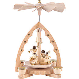 1 -  tier Pyramid Angel concert  -  7 inch  -  19cm