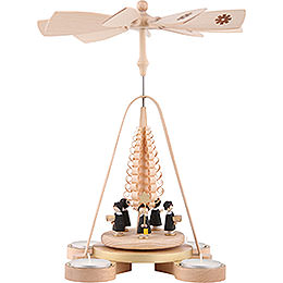 1 - tier pyramid Carolers  -  28cm / 11inch