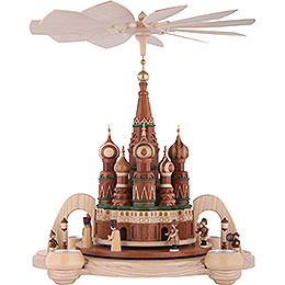 1 - tier pyramid  -  Saint Basil's Cathedral Moscow  -  40cm / 16 inch