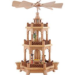 2 - stöckige Pyramide Christi Geburt  -  42cm
