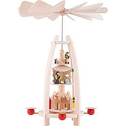 3 - Tier Pyramid  -  Nativity  -  35cm / 13.7 inch