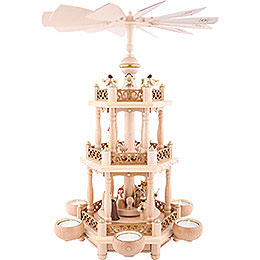 3 - Tier Pyramid  -  'Nativity'  -  46cm / 18.1 inch