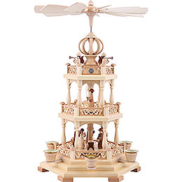 3 - tier pyramid  -  The Christmas Story  -  44cm / 17 inch