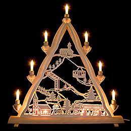 3D Light Triangle  -  Oberwiesenthal  -  50x55cm / 20x22inch