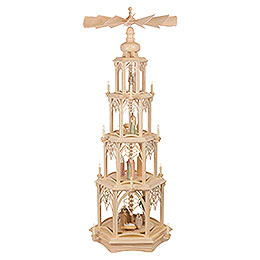 4 - tier christmas pyramid  -   Gothic  -  135cm / 53 inches