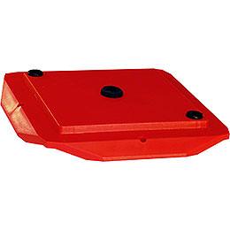 Abdeckplatte 29 - 00 - A13  -  rot