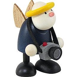 Angel Hans with Camera  -  7cm / 2.8 inch