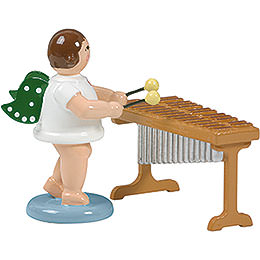 Angel at the xylophone  -  6,5cm / 2.5inch