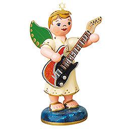 Angel boy with electrical guitar  -  6,5cm / 2,5inch