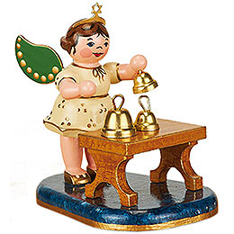 Angel with Bells  -  6,5cm / 2,5inch