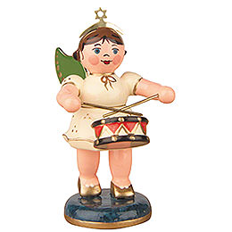 Angel with Drum  -  6,5cm / 2,5 inch