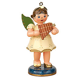 Angel with Pan Flute    -  10cm / 4 inch