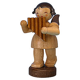 Angel with Panpipe  -  Natural Colors  -  Standing  -  6cm / 2,3 inch