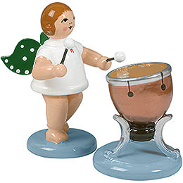 Angel with timbal  -  6,5cm / 2.5inch