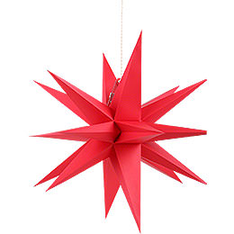 Annaberg folded star red  -  70cm / 27.6inch