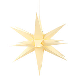 Annaberg folded star yellow  -  58cm / 22.8inch