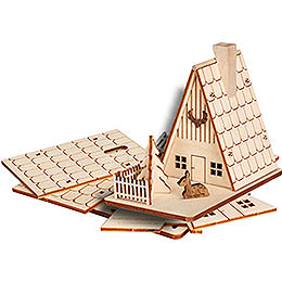 Bastelset R�ucherhaus Forsthaus  -  11cm