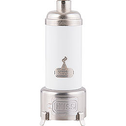 Bathing stove white  -  14cm / 5.5inch