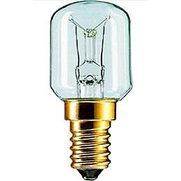 Birnenlampe klar  -  Sockel E14  -  230V/15W