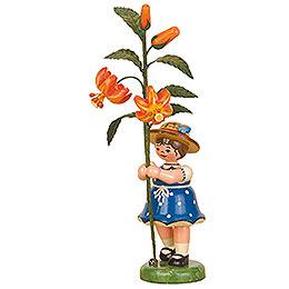 Blumenkind Mädchen Lilie  -  17cm