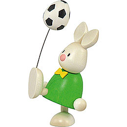 Bunny Max with football  -  9cm / 3.5inch