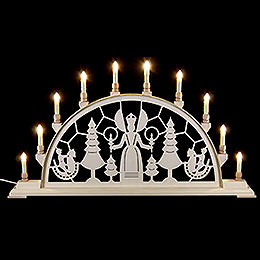 Candle Arch  -  Christmas Angel  -  78cm x 42cm / 31 x 17 inches