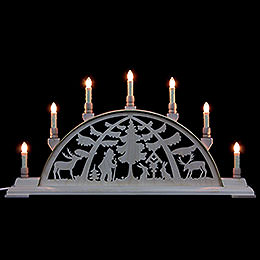 Candle Arch  -  Forest Scene  -  63cm x 32cm / 25 x 13 inches