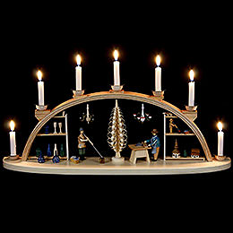 Candle Arch  -  Seiffen workshop  -  60cm / 24 inches