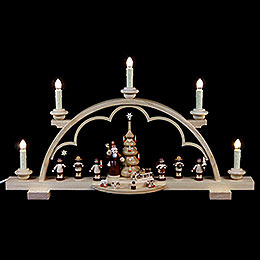 Candle Arch  -  The Giving  -  57cm / 22 inch  -  120 V electr. (US - standard)