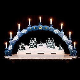 Candle Arch big size  -   95 x 28 x 59cm / 37 x 11 x 23inch