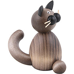 Cat Karli sitting  -  7cm / 2.8inch