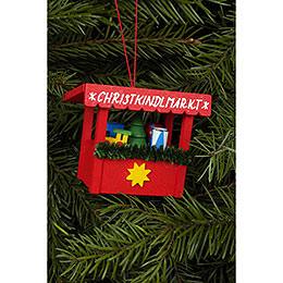 Christbaumschmuck Christkindlmarkt Spielzeug  -  6,3 x 5,3cm