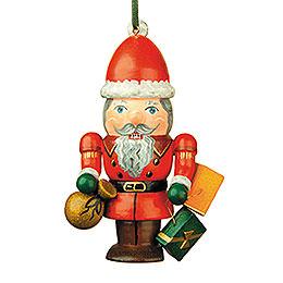 Christbaumschmuck Nussknacker - Weihnachtsmann  -  7cm