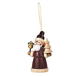 Christbaumschmuck  -  Weihnachtsmann  -  8cm