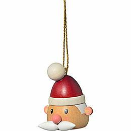 """Christbaumschmuck """"Weihnachtsmannkopf""""  -  5cm"""