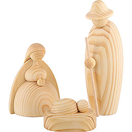 Christi Geburt, 3 - teilig, natur  -  17cm