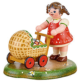 Country idyll Laura's doll  -  6cm / 2.4inch