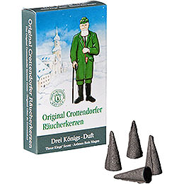 Crottendorfer Incense Cones  -  Three Kings' Scent