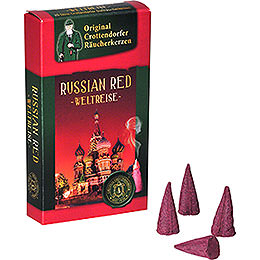 Crottendorfer Incense cones  -  Trip around the World  -  Russian Red