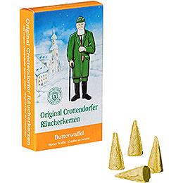 Crottendorfer Räucherkerzen  -  Butterwaffel
