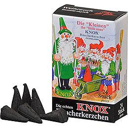"""Die """"Kleinen"""" KNOX - Räucherkerzen  -  Weihrauch  -  24 Stück  -  Mini"""