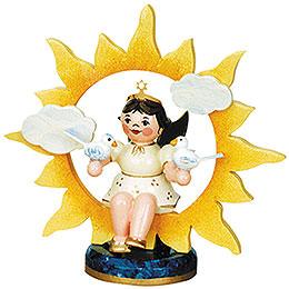 Engel - Sonne mit Tauben  -  6,5cm