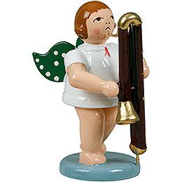 Engel mit Kontrafagott  -  6,5cm