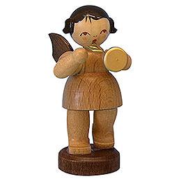 Engel mit Trompete  -  natur  -  stehend  -  6cm