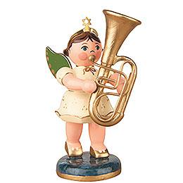 Engel mit Tuba  -  6,5cm