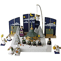 Figure set 'Christmas Land'  -  3,5cm / 1.3inch