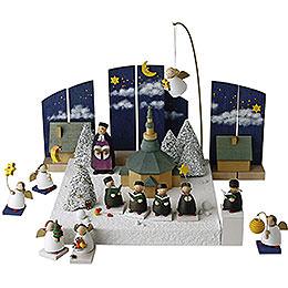 Figurengruppe 'Im Weihnachtsland'  -  3,5cm