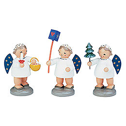Group of Angels  -  3 pcs.  -  5cm / 12 inch