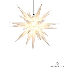 Herrnhuter Moravian star A7 white plastic  -  68cm/27inch
