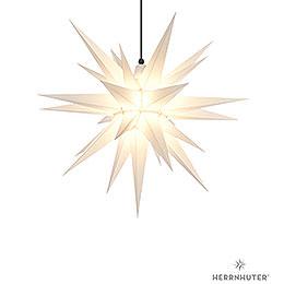 Herrnhuter Moravian star A7 white plastic  -  68cm/27inch